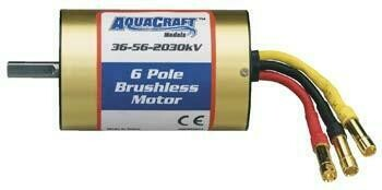 AquaCraft Brushless 6-Pole Marine Motor 36-56-2030