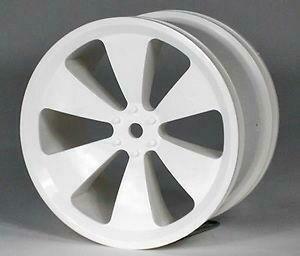 IMEX NEVADA WHITE NYLON RIMS (4 PCS) T-MAXX #7062