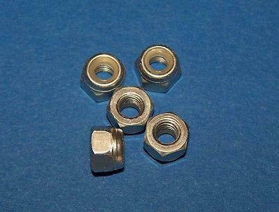 KYOSHO M4 ALUMINUM NYLON NUT (SLIVER/5 PCS ONLY) #1353