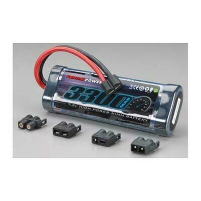 Venom NiMH 6-Cell 7.2V 3300mAh Stick Universal Plugs (VNRC1540)