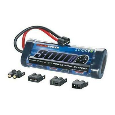Venom NiMH 6-Cell 7.2V 3000mAh Stick Universal Plugs (VNRC1532)