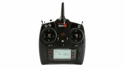 DX6 6-Channel DSMX® Transmitter, Mode 2 with AR610 Receiver (SPM6750)