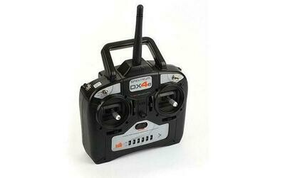 DX4e 4-Channel DSMX® Transmitter Only, Mode 1/3  by Spektrum