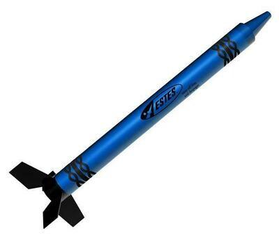 Estes Blast Off Blue Crayon Rocket RTF