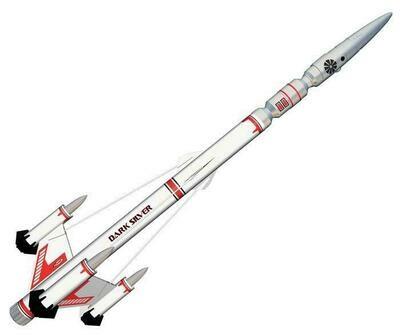 Estes Dark Silver Rocket Level 4