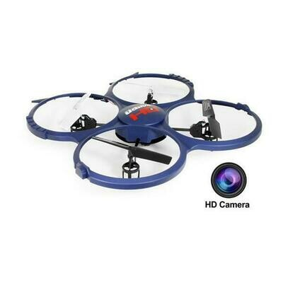 UDI U818A-1 2.4GHz 4 CH 6 Axis Gyro RC Quadcopter w/ HD Video Camera & Extra Battery (Included) (61236)