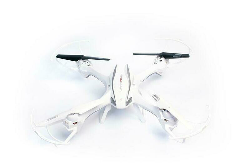 UDI LARK QUADCOPTER WITH FPV, WHITE (UDIU842-1W)