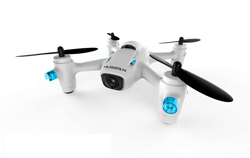 Hubsan 2nd Generation X4 Quad w/HD Camera, 2.4GHz (HICH107C+)