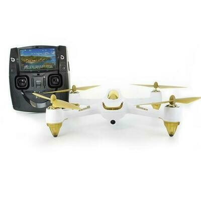 Hubsan H501S V2 Brushless X4 5.8G FPV Super HD Camera GPS RC Quadcopter RTF - White (61309)