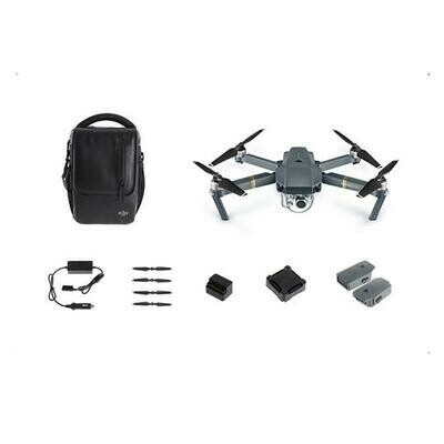 DJI MAVIC PRO READY TO FLY FOLDING QUADCOPTER WITH 4K CAMERA - FLY MORE COMBO (DJI-MAVICPC1)