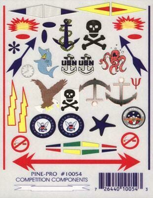 10054 Anchors Aweigh Decal
