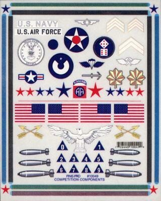 10049 Military Decal