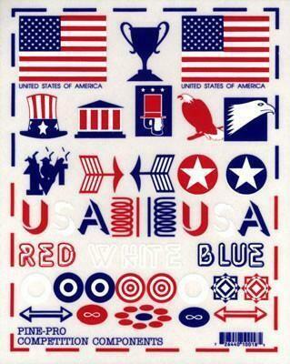 10018 Patriotic Decal Set