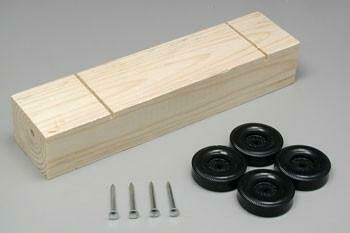 10046 Block Kit w/Wheels & Axles