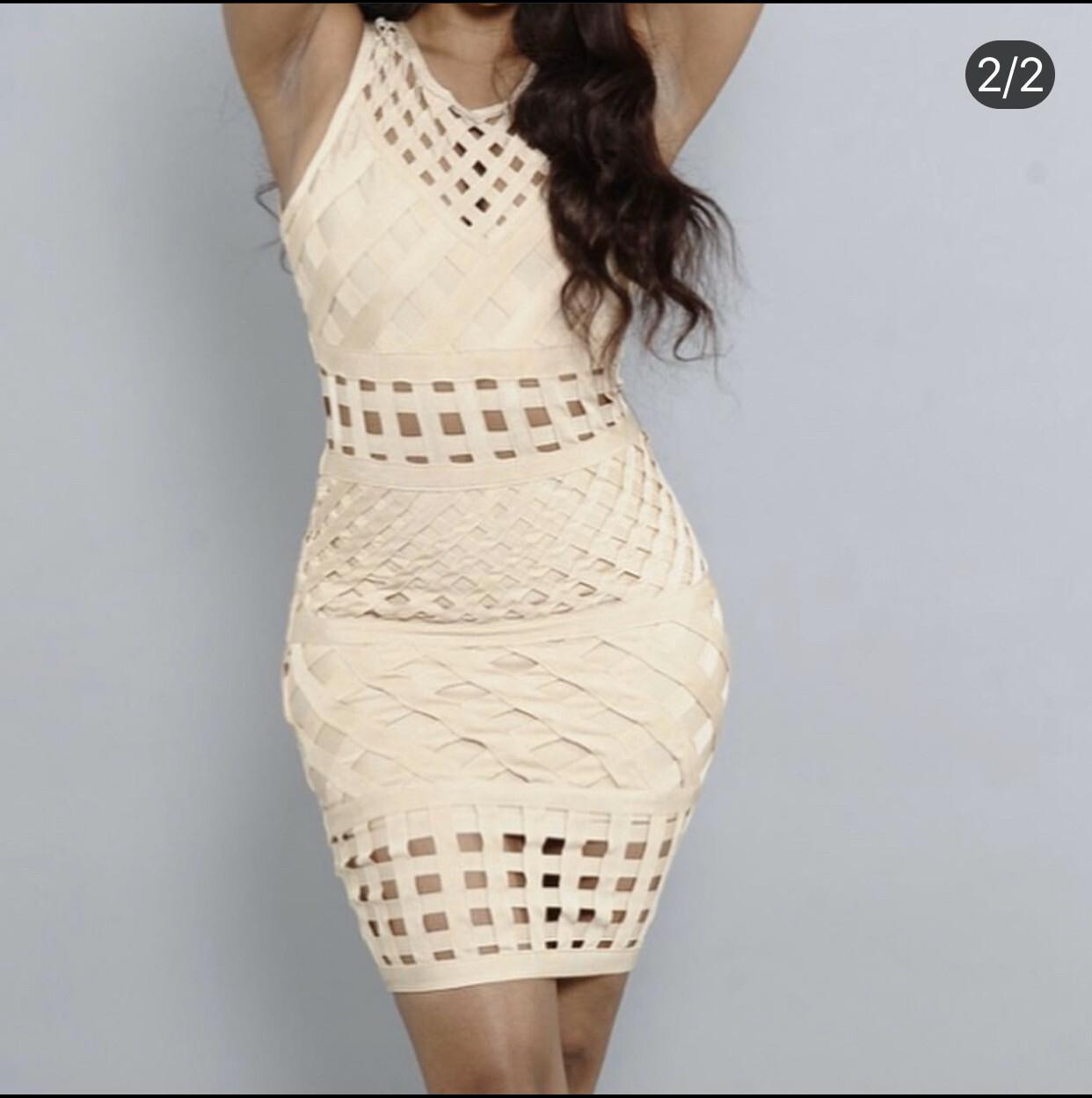 So Tied Up Dress