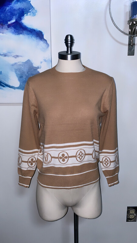 Lee V Brown Sweater