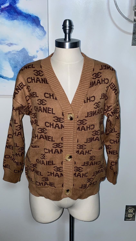 Posh Button Sweater