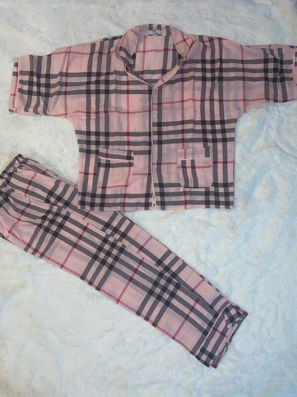 Pink Stripes Pjs