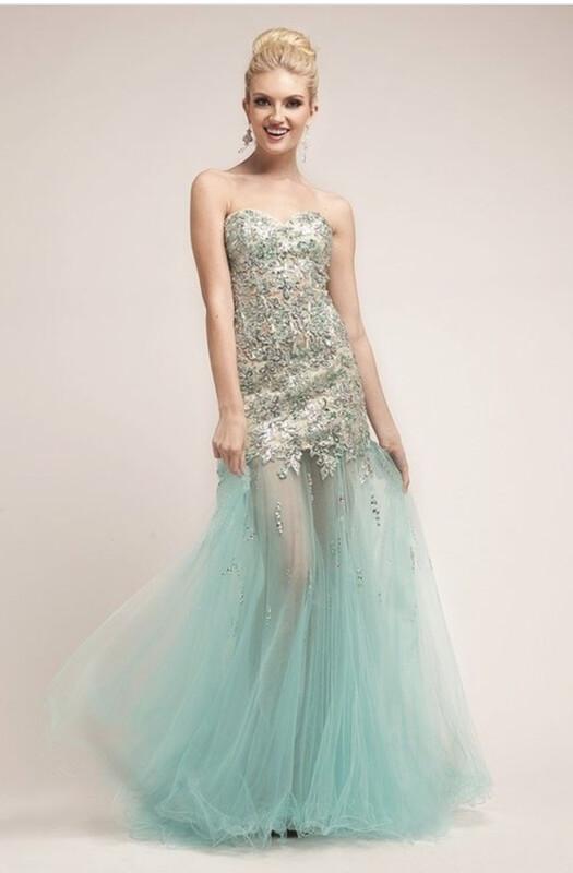 Mint Mermaid Dress