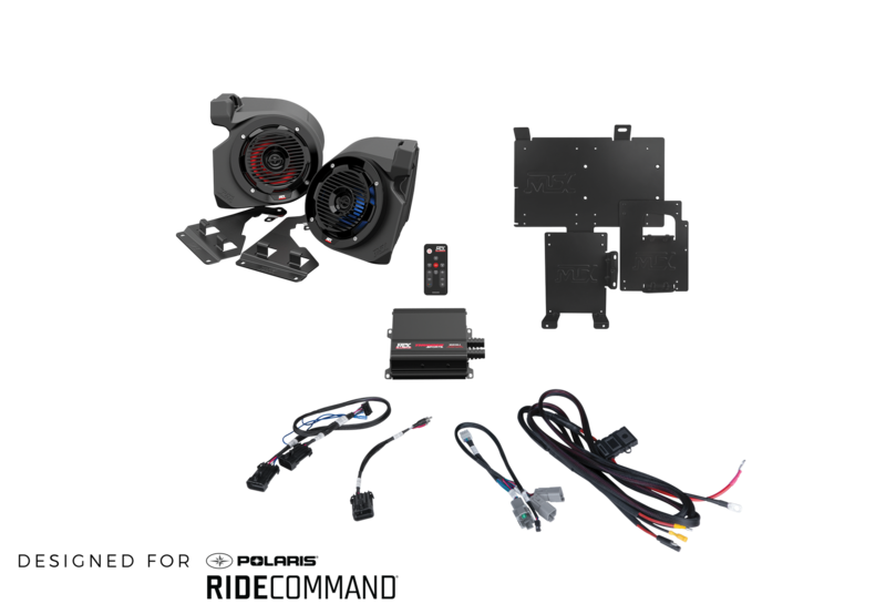 2-Speaker RZR System with Ride Command