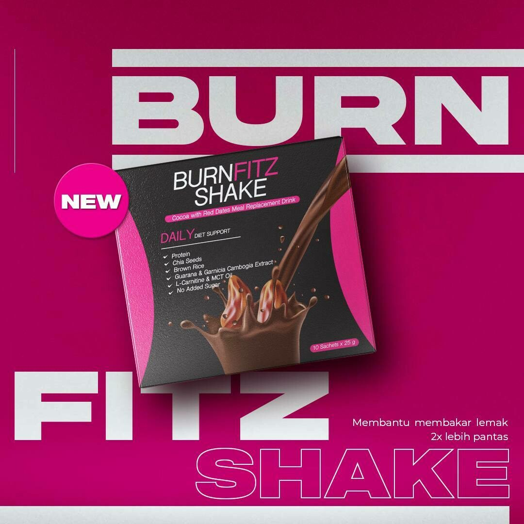 BurnFitz Shake -Meal Replacemet+FatBurner