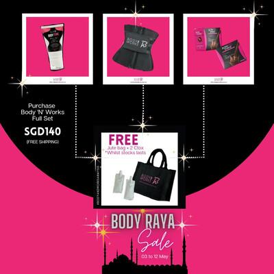 BodyandWorksSG Body Raya Full Set