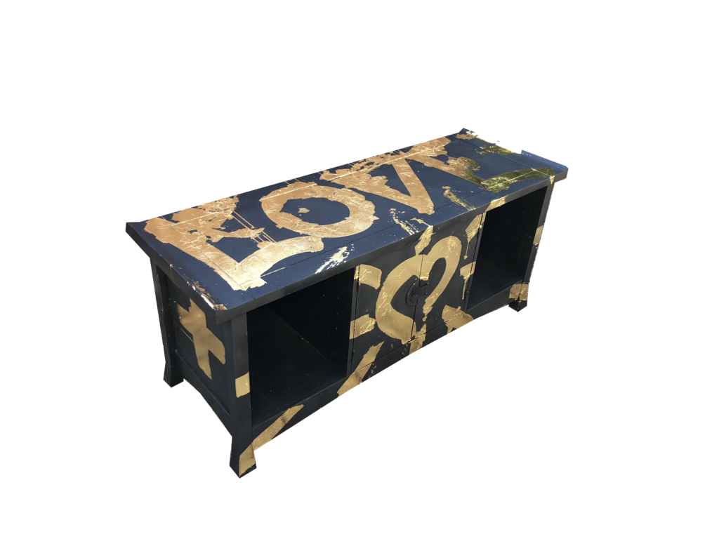 LOVE Sideboard 24 Karat Gold - BuBu Collection