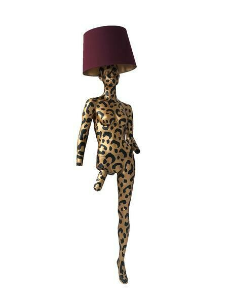 Grace Jones Mannequin Lamp - BuBu Collection