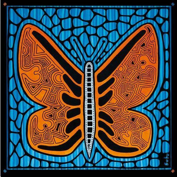 Seidenschal Butterfly - Limited Edition 100 Stück