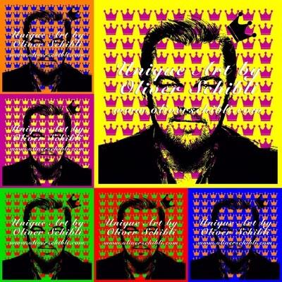 Leonardo DiCaprio Kings & Queens Limited Edition Prints