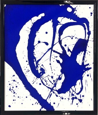 Royal Abstract Untitled Canvas Board