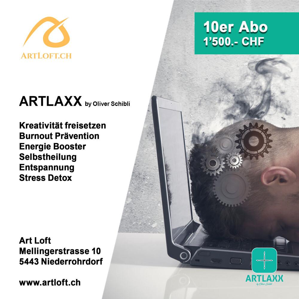 ARTLAXX by Oliver Schibli - 10er Abo