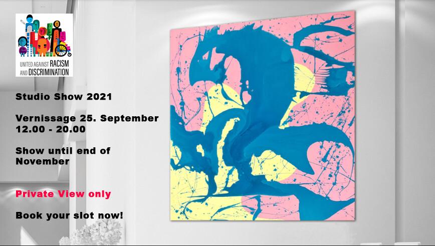 Studio Show 2021 - 25.09.2021 - Vernissage - Oliver Schibli Art