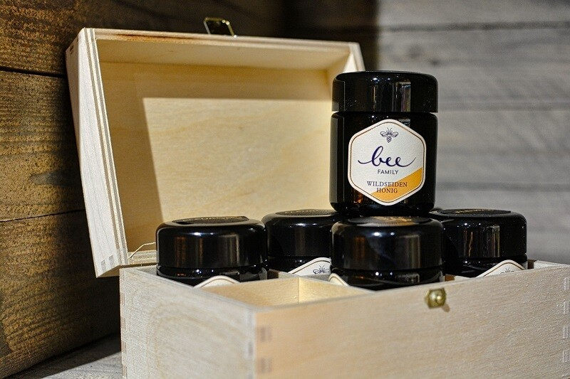 Bee-Family Honig 6 x 70 Gramm (verschiedene Sorten)