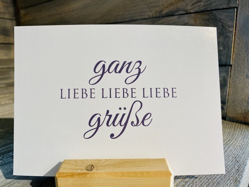 Postkarte Wunderwort