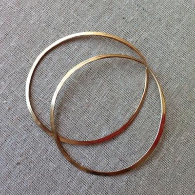Hoop Earrings (SS or Gold Fill)