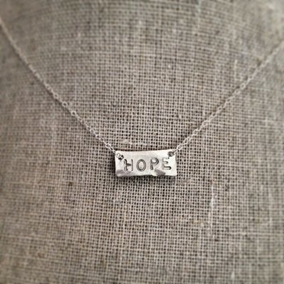 The Small Rectangle Necklace