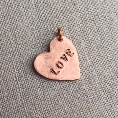 Ala Carte Copper Heart