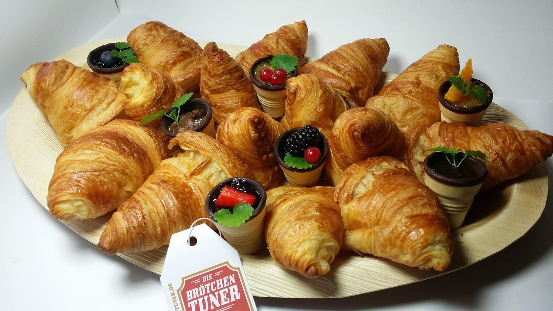 "Süße Croissantplatte ""France"""""