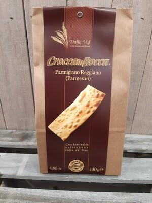 Crakers parmesan CROCCA IN BOCCA
