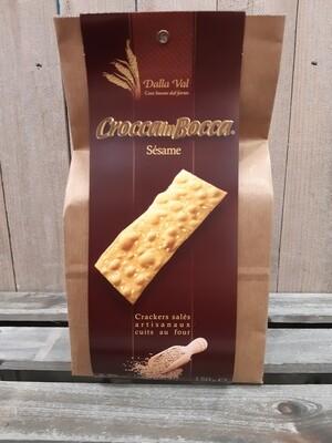 Crackers au sésame CROCCA IN BOCCA