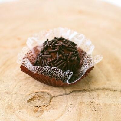Trufa Vegana de Chocolate com Granulado