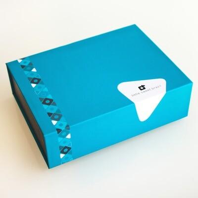 Caixa Presente de Trufa de Beijinho com Chocolate ao Leite (12 unidades)