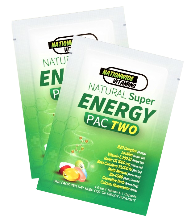 ENERGY PAC TWO (24 Pouches)