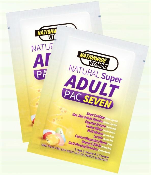 ADULT PAC SEVEN (24 Pouches)