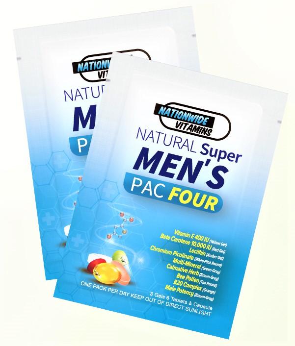 MEN'S PAC FOUR (24 Pouches)