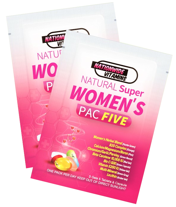 WOMEN'S PAC FIVE (24 Pouches)