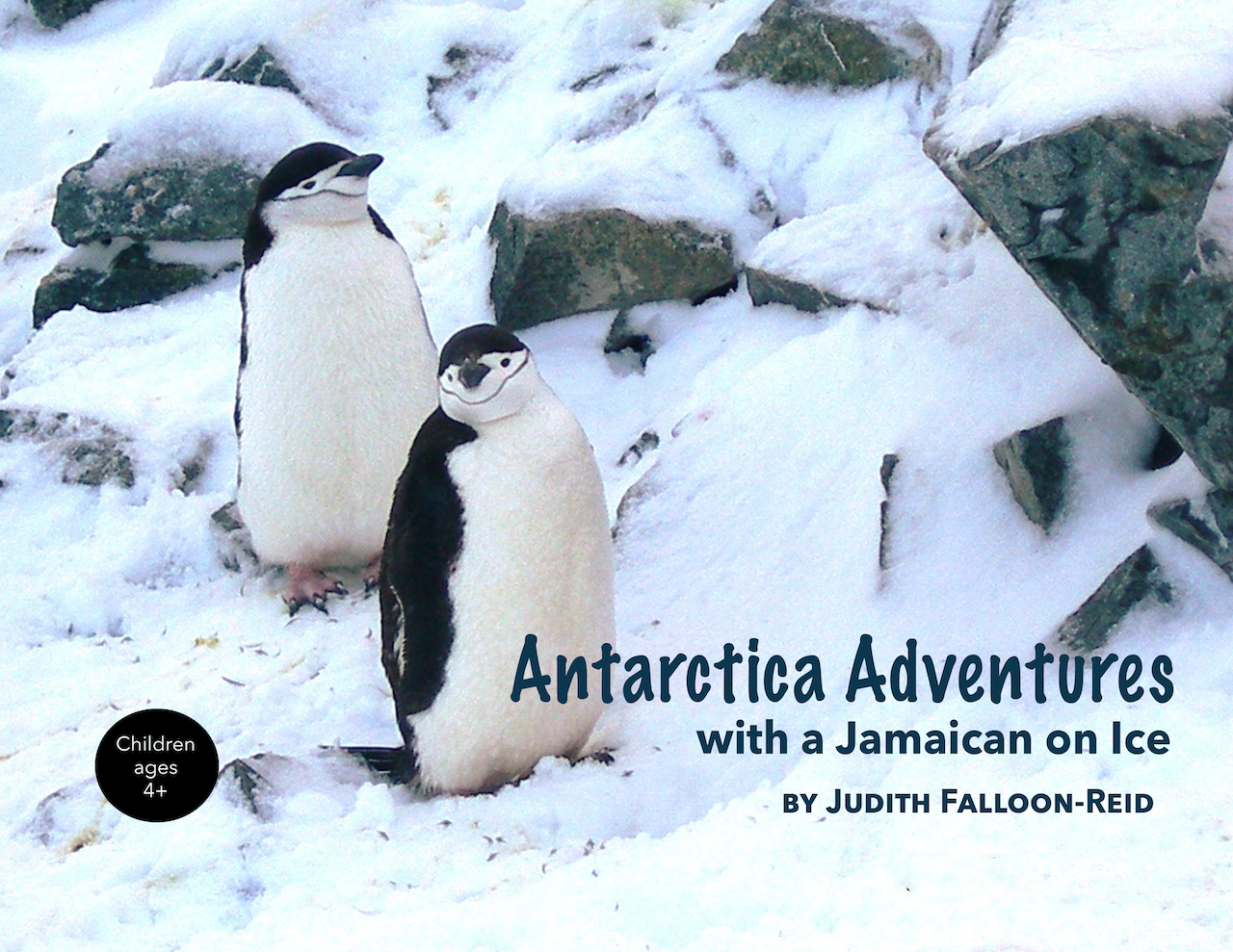 Antarctica Adventures with a Jamaican on Ice