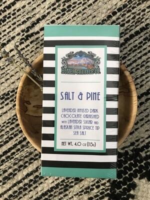 Salt and Pine Chocolate Bar