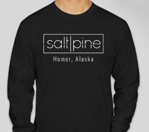 Salt and Pine Unisex Long Sleeve Tshirt